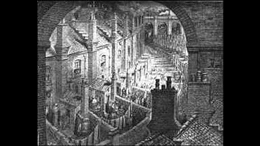 Living Conditions During The Industrial Revolution Drawing