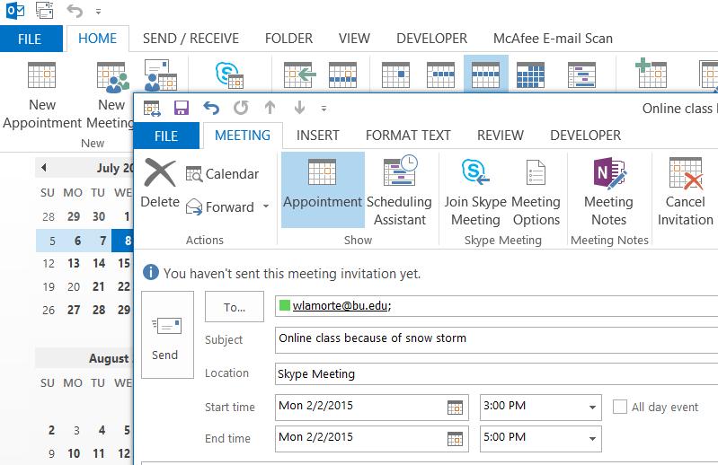 Skype for Business Lync